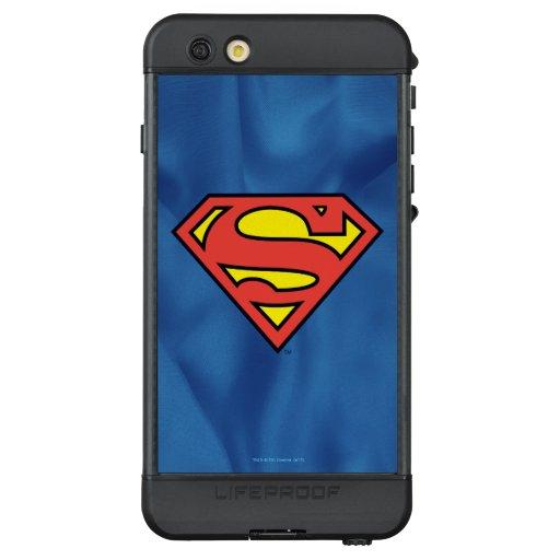 Superman S-Shield   Superman Logo LifeProof NÜÜD iPhone 6s Plus Case