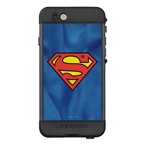 Superman S-Shield   Superman Logo LifeProof NÜÜD iPhone 6s Case