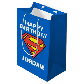 Superman S-Shield | Superman Logo Medium Gift Bag
