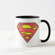 superman, superman logo, superman symbol, superman icon, superman emblem, superman shield, s shield, man, steel, clark, kent, comic, super, hero, classic logo, logo, shield, s, man of steel, cartoon, returns, comics, super hero, dc comics, red, yellow, blue, blue red and yellow, kryptonite, metropolis, lois lane, superwoman, action comics, s-shield, stylized s shield, clark kent, superhuman, super-human, daily planet, daily star, man of tomorrow, last son of krypton, krypto the superdog, krypto, Mug with custom graphic design