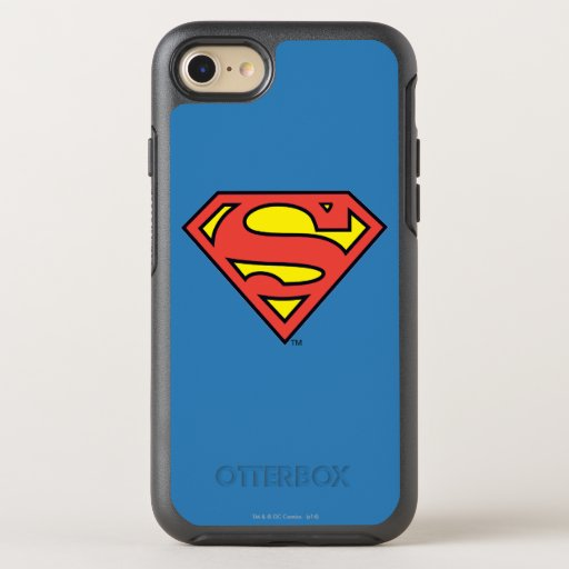 Superman S-Shield | Superman Logo OtterBox Symmetry iPhone SE/8/7 Case