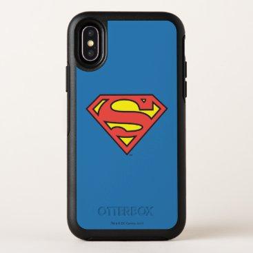 Superman S-Shield | Superman Logo OtterBox Symmetry iPhone X Case