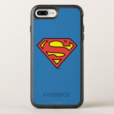 Superman S-Shield | Superman Logo OtterBox Symmetry iPhone 8 Plus/7 Plus Case