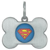 Superman S-Shield | Superman Logo Pet ID Tag