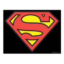 Superman S-Shield | Superman Logo Postcard