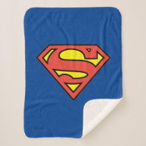 Superman S-Shield | Superman Logo Sherpa Blanket