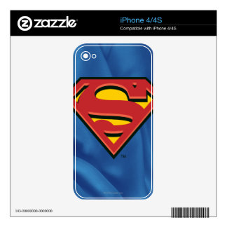 Superman S-Shield | Superman Logo Skin For iPhone 4S