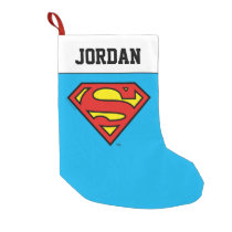 Superman S-Shield | Superman Logo Small Christmas Stocking