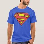 "Superman S-Shield | Superman Logo T-Shirt<br><div class=""desc"">DC Originals - DC Comics</div>"