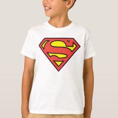 Superman S-shield   Superman Logo T-shirt at Zazzle