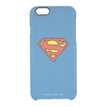 Superman S-Shield | Superman Logo Clear iPhone 6/6S Case