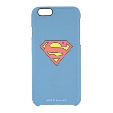 Superman S-Shield | Superman Logo Clear iPhone 6/6S Case