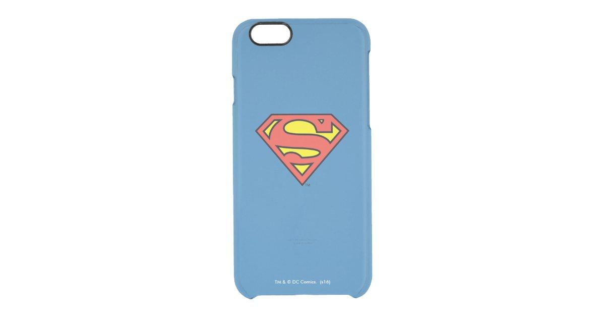 Superman S Shield Superman Logo Uncommon Iphone Case Zazzle Com