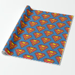 Superman S-Shield | Superman Logo Wrapping Paper