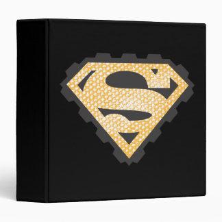 Superman S-Shield | Tan Logo Binder