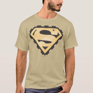 Superman S-Shield | Tan Logo T-Shirt