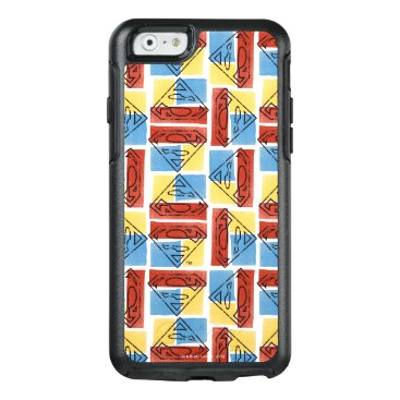 Superman Shield with Colors OtterBox iPhone 6/6s Case