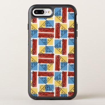 Superman Shield with Colors OtterBox Symmetry iPhone 8 Plus/7 Plus Case