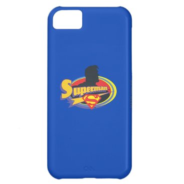 Superman Silhouette iPhone 5C Cover