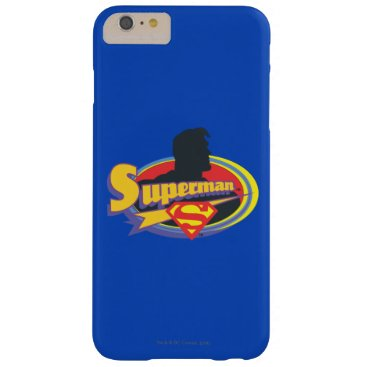 Superman Silhouette Barely There iPhone 6 Plus Case