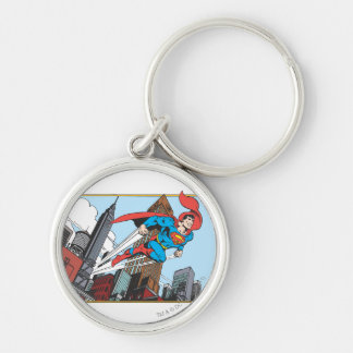 Superman & Skyscrapers Keychains