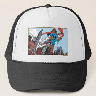 Superman & Skyscrapers Trucker Hat