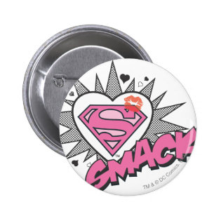 Superman - Smack Pinback Buttons