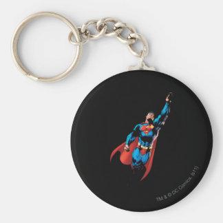 Superman Soars Keychain