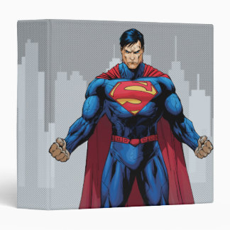 Superman Standing 3 Ring Binder