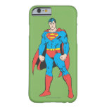 Superman Standing Barely There iPhone 6 Case