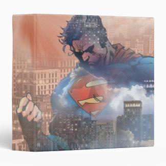 Superman Standing Vinyl Binders
