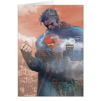 Superman Standing Card