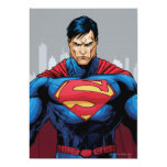 Superman Standing Card