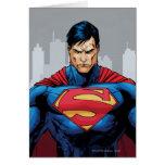 Superman Standing Greeting Card