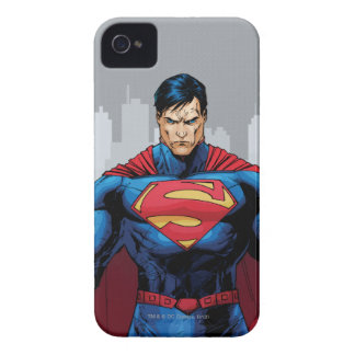 Superman Standing iPhone 4 Cover