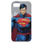 Superman Standing iPhone 5 Cases