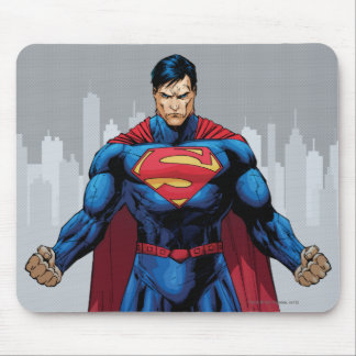 Superman Standing Mouse Pad