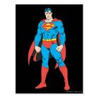 Superman Standing Postcard