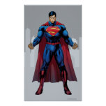 Superman Standing Poster