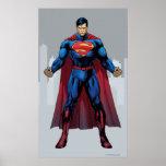 Superman Standing Print