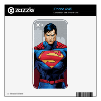 Superman Standing Skin For iPhone 4