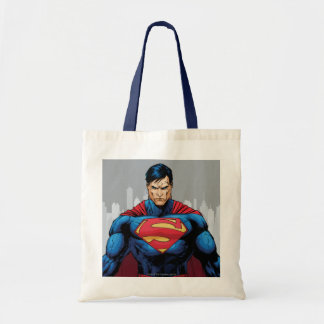Superman Standing Tote Bag
