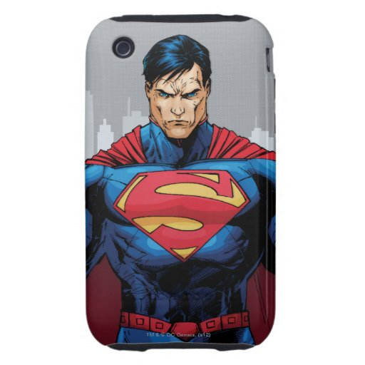 Superman Standing Tough iPhone 3 Case