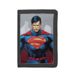 Superman Standing Tri-fold Wallet