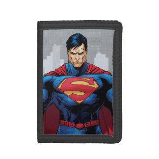 Superman Standing Tri-fold Wallet