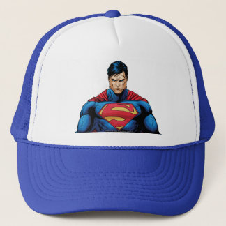 Superman Standing Trucker Hat