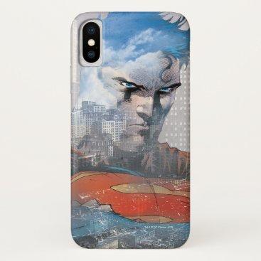 Superman Stare iPhone X Case