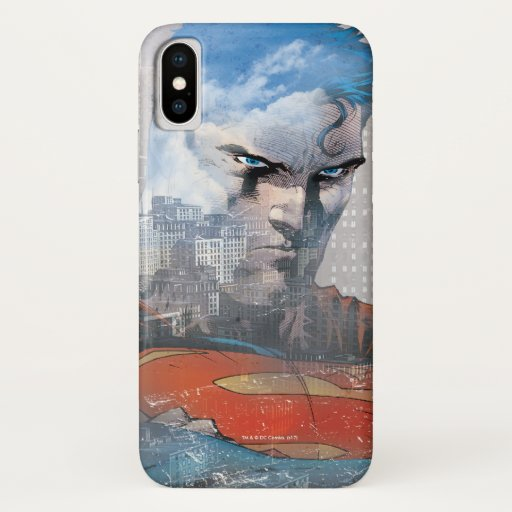 Superman Stare iPhone X Case