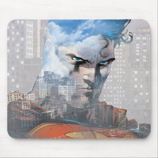 Superman Stare Mouse Pad