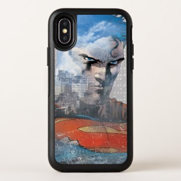 Superman Stare OtterBox Symmetry iPhone X Case